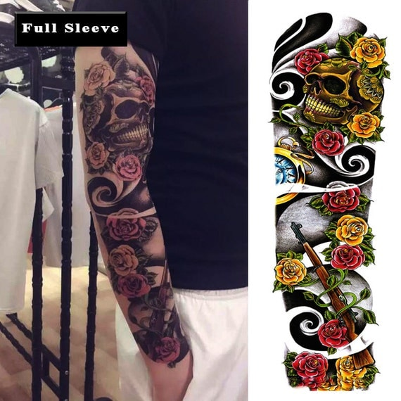 temporary tattoo full sleeve