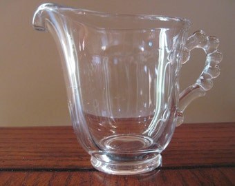 Candlewick Creamer-Imperial Glass Co. - Item #1012