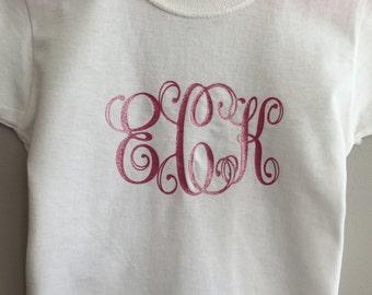 Monogram Toddle T-Shirt