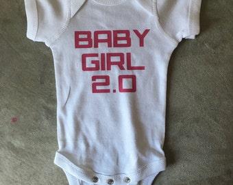 Baby Girl 2.0 Onesie