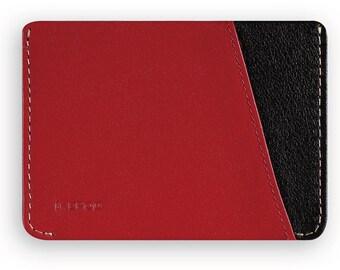 Micro Slim Wallet Wine Red (IKE0128_RED)