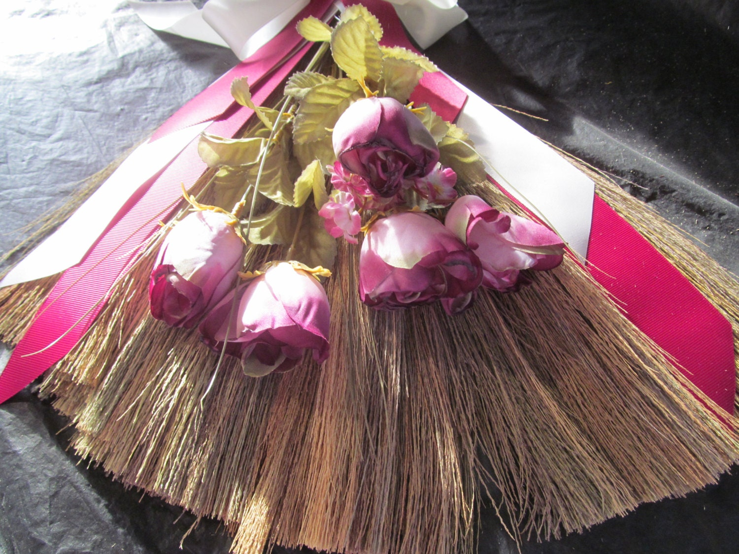 sale decorated wedding jump broom jumping broom