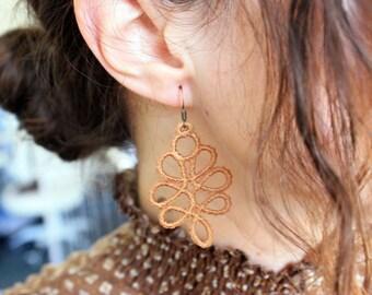 Free Standing Lace Earrings