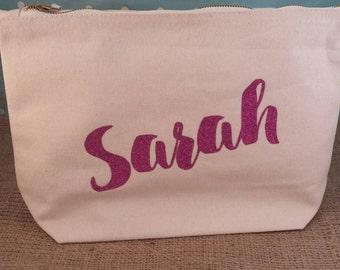 Personalised Makeup Bag