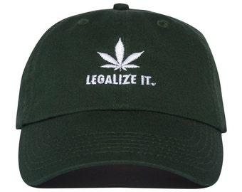 Legalize It Hat - Forest Green