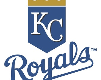 Kansas City Royals Decal Etsy - Custom vinyl stickers kansas city
