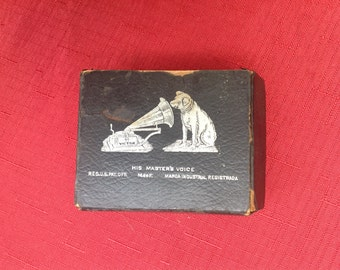 1920's Victrola Needles RCA Original Box