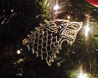 Game of Thrones Stark Sigil Ornament