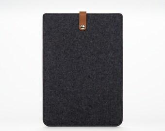 iPad Air Sleeve - iPad Air Case - iPad Air Cover - iPad Air 2 Leather - Leather Felt Case