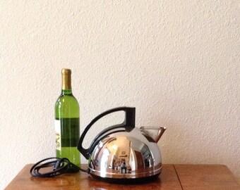 Vintage Electric Tea Pot, General Electric Tea Pot, Mid Century Modern Tea Pot, Kettle