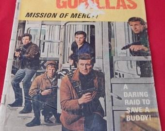 Vintage Comic Book, Garrison's Gorillas 1968