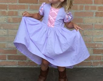 Rapunzel play dress