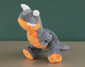 Carnotaurus Custom Handmade Dinosaur Plush
