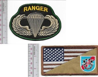 Ranger US Army 20th Special Forces Group Airborne & Ranger Parachutist Wings