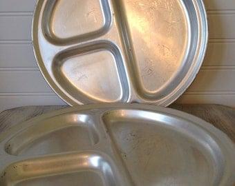 Aluminum camping plates