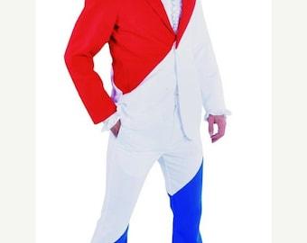 Summer Sale Euro Vision Suit - Mr Holland / Mr France - Red/ White / Blue