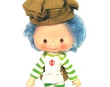 Vintage Strawberry Shortcake Crepe Suzette Doll 1979, American Greetings, Made in Hong Kong