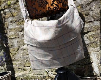 Simple medieval pilgrim bag, tote, LARP bag