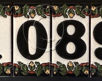 Tile House Number, Address Tiles