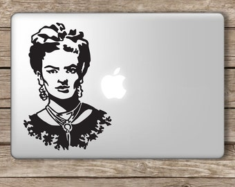 Frida Kahlo Art Artist Vinyl Laptop Decal Apple Macbook Ipad Home Sticker
