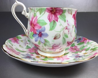 Royal Albert Summer Glory Tea Cup Set