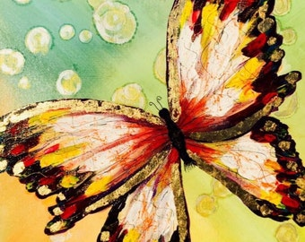 MadeTo Order Butterfly Painting.