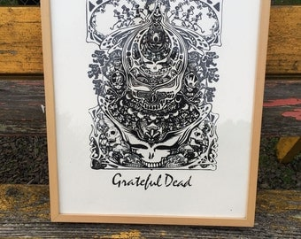 Unique Deadhead Related Items Etsy