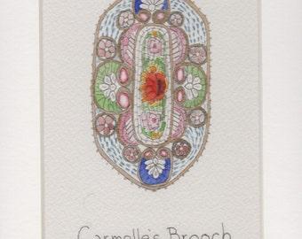 Carmelle's Brooch