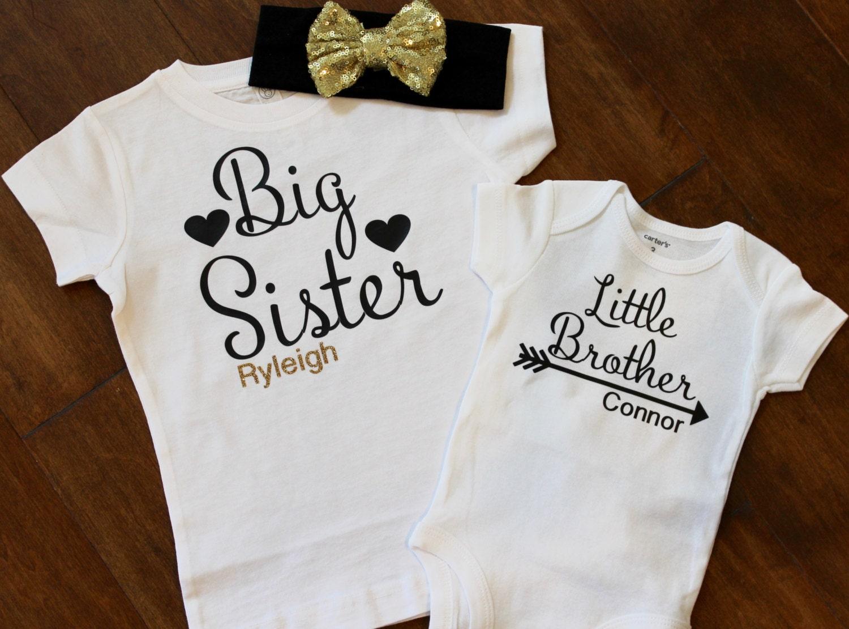 Big Sister Shirt Little Brother Shirt Big Sister Little