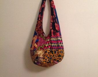 Handmade African Print Crossbody Bag-Ankara/ Boho Bag