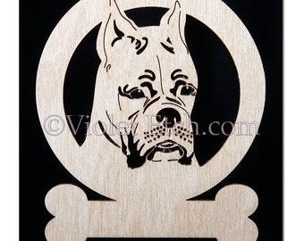 Boxer Ornament-Boxer Gift-Free Personalization