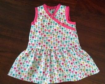 Puperita Pattern, Girls Dress, Girls Clothing, Size 12/18mos