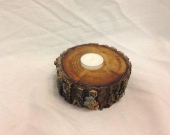 Elm Tea Light Center Piece