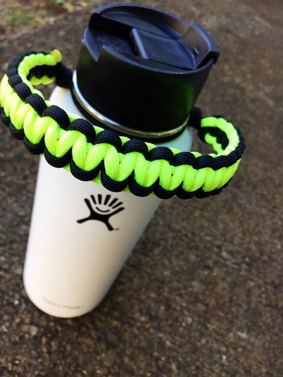 Hydro flask paracord handle no plastic parts by whiskeylocker