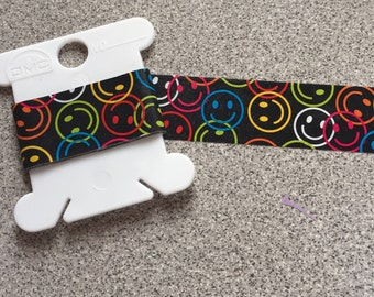 Smiley Faces Washi Tape Sample