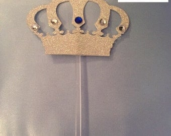 Jeweled Crown Topper