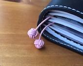 Light Pink Monkey Knot Page Marker