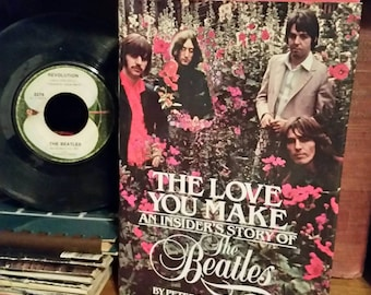 The Love You Make An Insider's Story of the Beatles/Vintage 1983 Hardcover Book/Beatles Biography/Rock n Roll/Beatles Memorabilia/Fan Gift