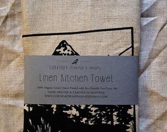Linen Montana Kitchen Towel