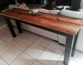 LOCAL ORDER ONLY, Florida Order, Wooden Bar, Half-Table, Skinny Table, Accent Table, Console Table, Wooden Furniture, Home Decor