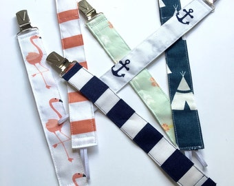 Fashion Pacifier Clips