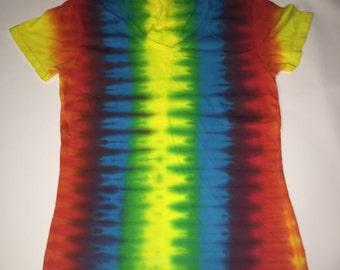 Fan Fold Tie Dye