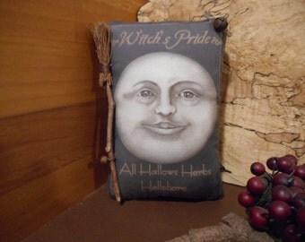 Halloween Pillow Tuck: Primitive Rustic Halloween  Americana Pillow Tuck.