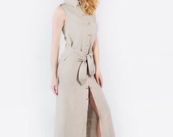 Linen Dress EDNA
