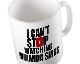 I can't stop watching MIRANDA SINGS MUG Youtube, Gamer, Vlogger