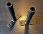"Floating Shelf Bracket Pair - 7/8"" diameter post"