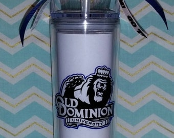 College & Pro Football Glitter Dipped Tumblers- Many colors and Designs!