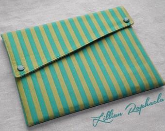 """iPad Case """"Amado"""" – elegant iPad Cover – handmade iPad Sleeve – one-of-a-kind iPad Case"""