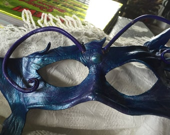"Handmade leather mask ""finnie"""