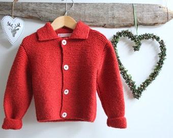 Hand knit cashmere & merino yarn